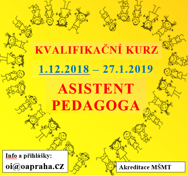 Asistent pedagoga od 1.12.18